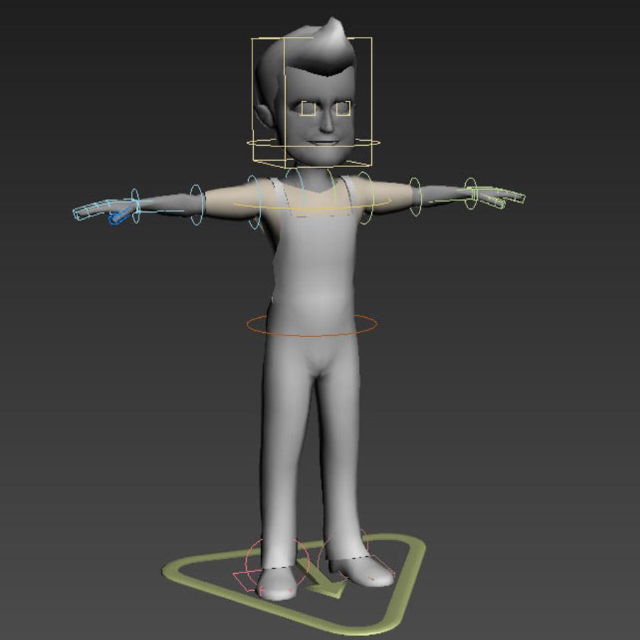 Низкополигональные персонажи royalty-free 3d model - Preview no. 4