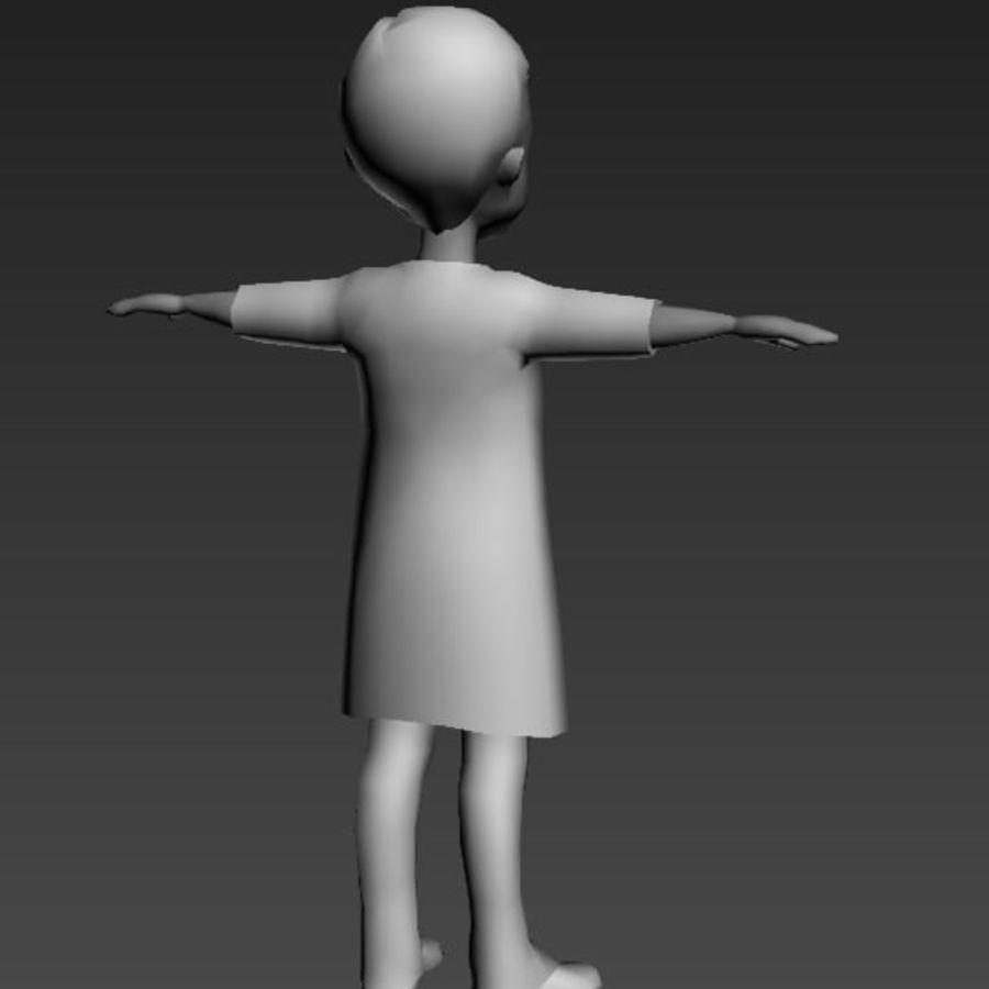 Низкополигональные персонажи royalty-free 3d model - Preview no. 6