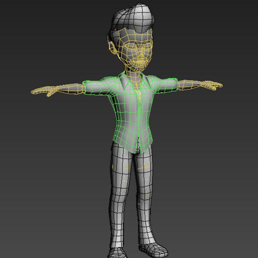 Низкополигональные персонажи royalty-free 3d model - Preview no. 13