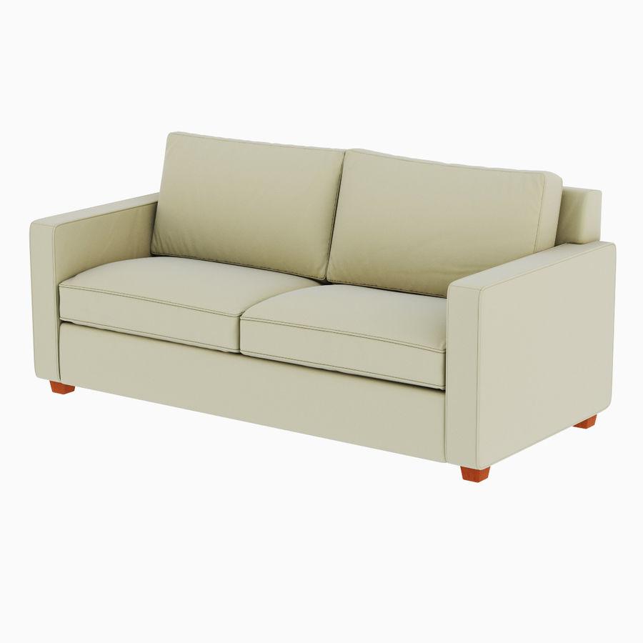 West Elm Henry Sofa 3d Model 20 Obj Fbx Max Free3d