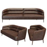 Wittmann Odeon sofa 3d model