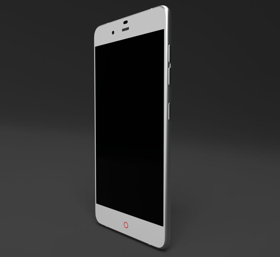 ZTE Nubia My Prague royalty-free 3d model - Preview no. 3