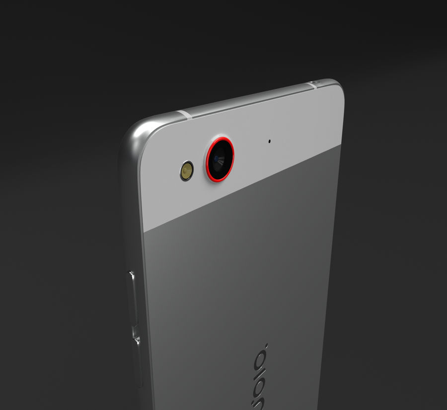 ZTE Nubia My Prague royalty-free 3d model - Preview no. 4