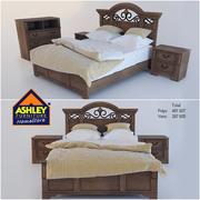 Кровать Эшли 3d model