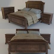 Łóżko Ashley 2 3d model