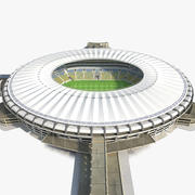 축구 경기장 마라 카나 3d model