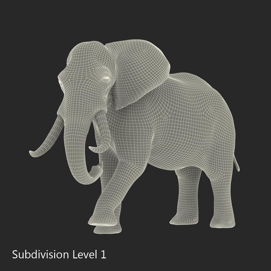 Éléphant gréé royalty-free 3d model - Preview no. 50