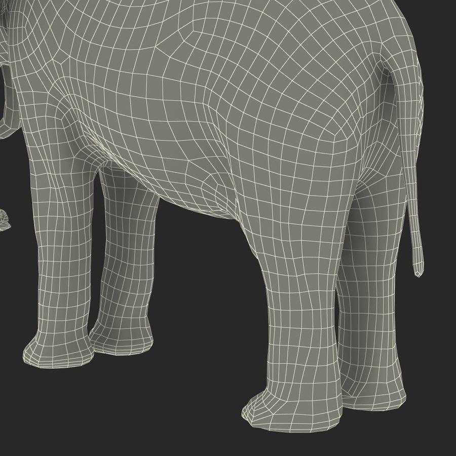 Éléphant gréé royalty-free 3d model - Preview no. 63