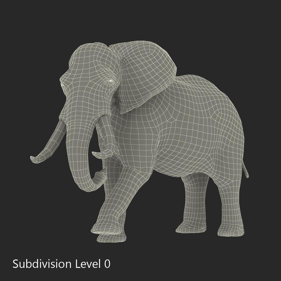 Éléphant gréé royalty-free 3d model - Preview no. 49