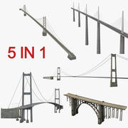 Bridges Collection 2 3d model