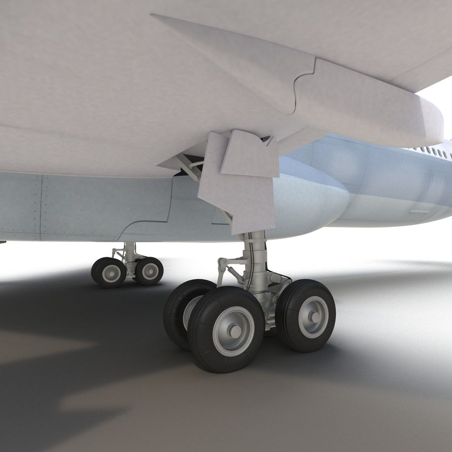 Jet Uçağı Airbus A330-300 Cathay Pacific royalty-free 3d model - Preview no. 36