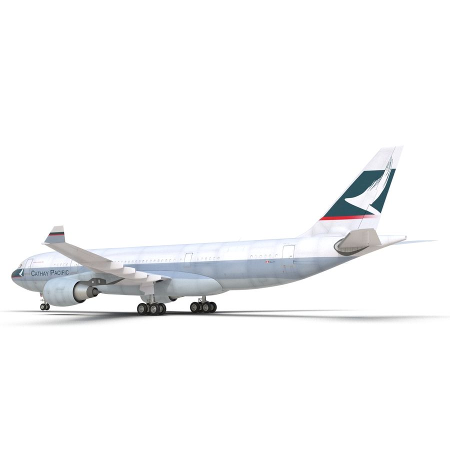 Airbus A330 P2F Cathay Pacific Arma royalty-free 3d model - Preview no. 20