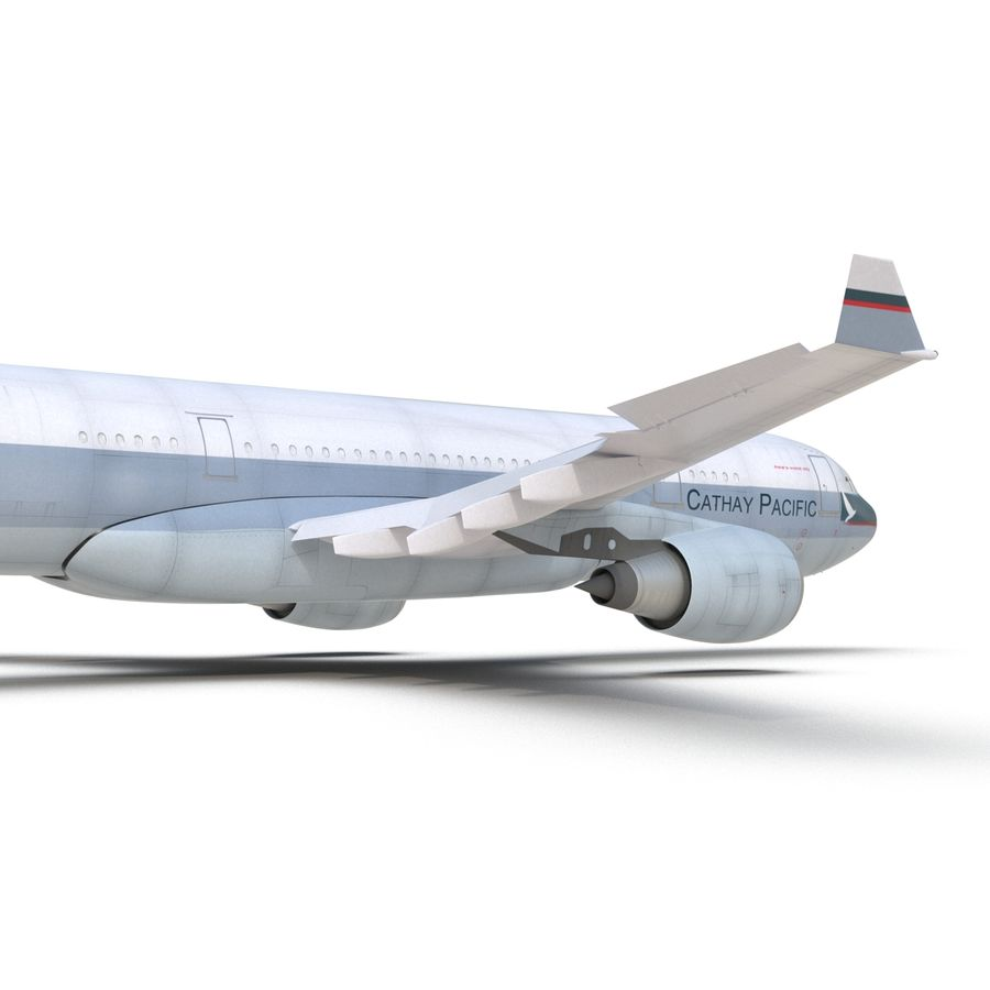 Airbus A330 P2F Cathay Pacific Arma royalty-free 3d model - Preview no. 25