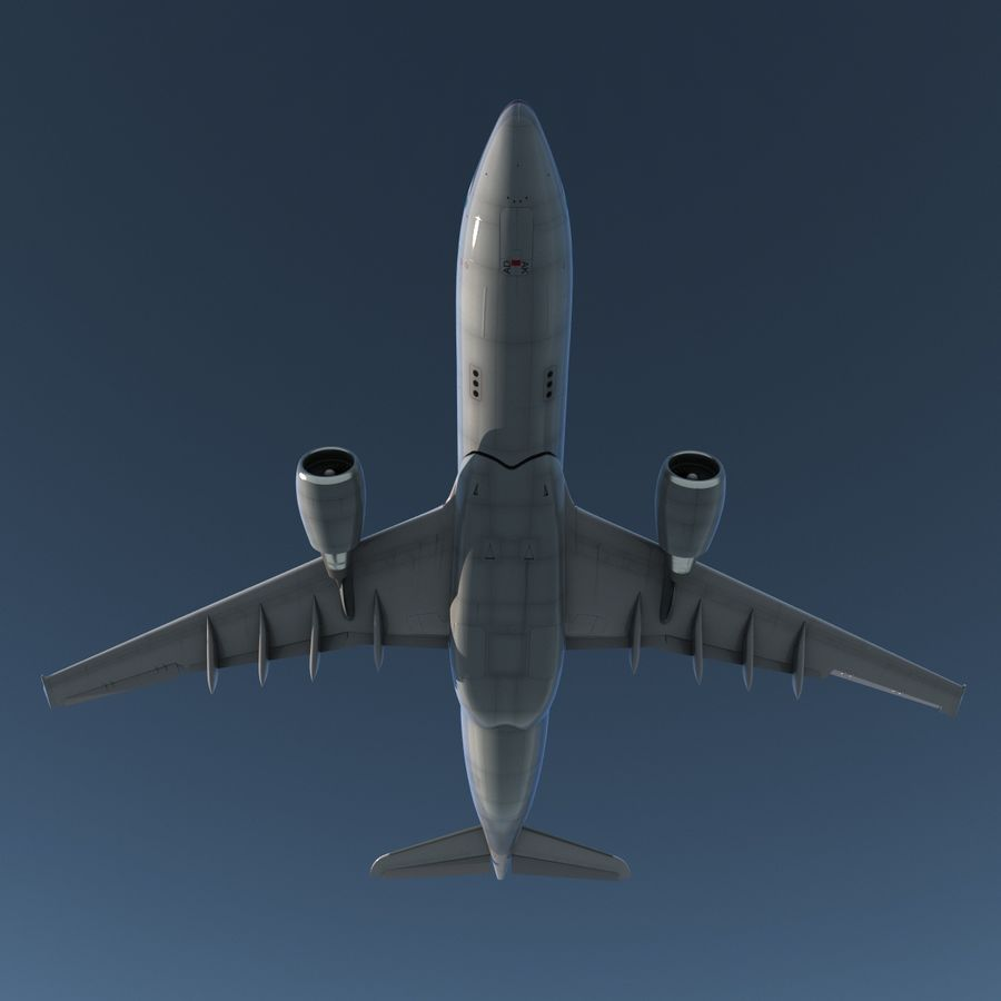 Airbus A330 P2F Cathay Pacific Arma royalty-free 3d model - Preview no. 10