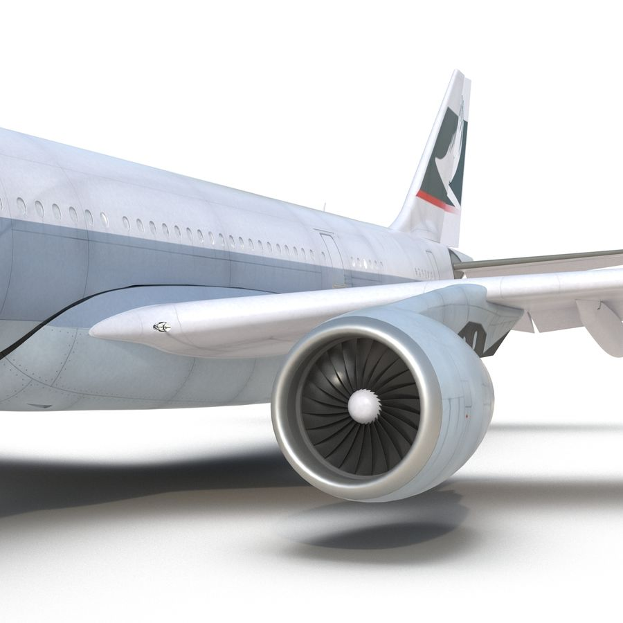 Airbus A330 P2F Cathay Pacific Arma royalty-free 3d model - Preview no. 30