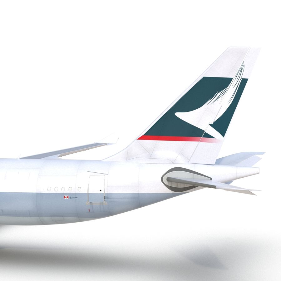 Airbus A330 P2F Cathay Pacific Arma royalty-free 3d model - Preview no. 29