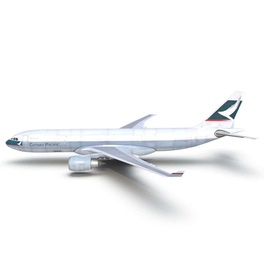 Airbus A330 P2F Cathay Pacific Arma royalty-free 3d model - Preview no. 14