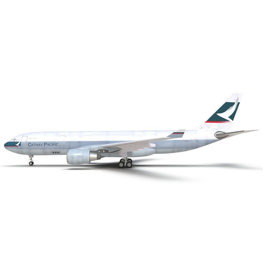 Airbus A330 P2F Cathay Pacific Arma royalty-free 3d model - Preview no. 15