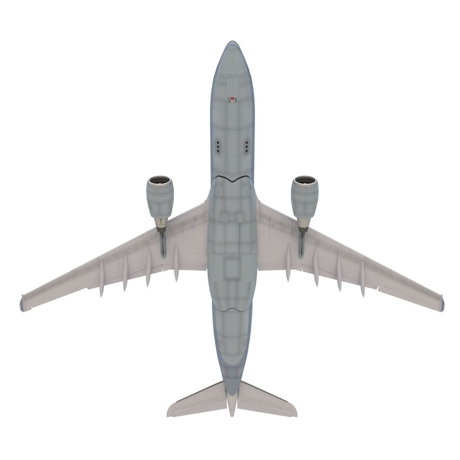 Airbus A330 P2F Cathay Pacific Arma royalty-free 3d model - Preview no. 23