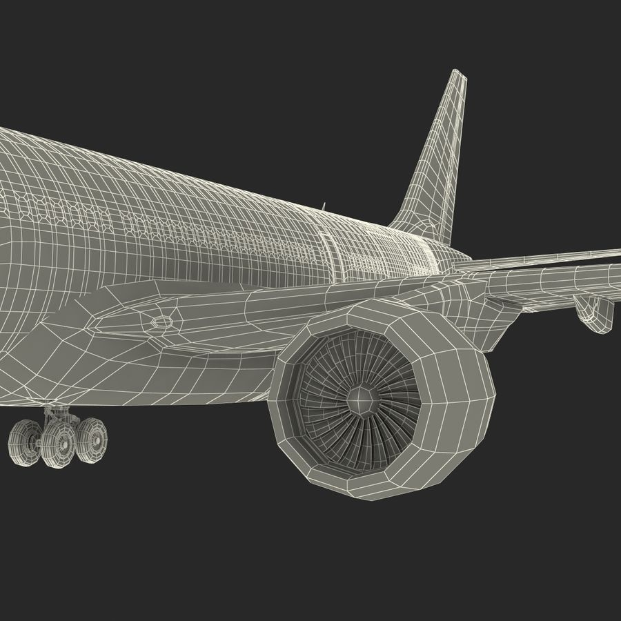 Airbus A330-P2F Cathay Pacific 3D Modeli royalty-free 3d model - Preview no. 38