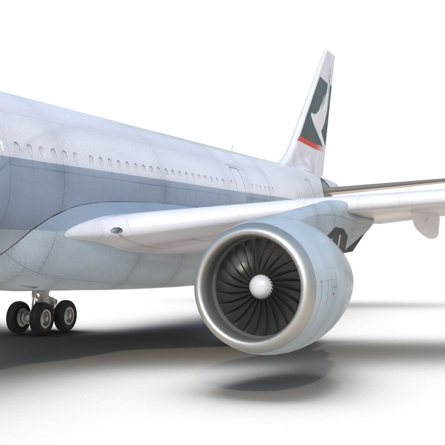 Airbus A330-P2F Cathay Pacific 3D Modeli royalty-free 3d model - Preview no. 20