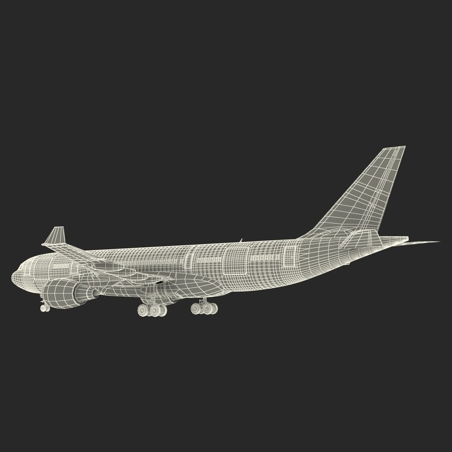 Airbus A330-P2F Cathay Pacific 3D Modeli royalty-free 3d model - Preview no. 34