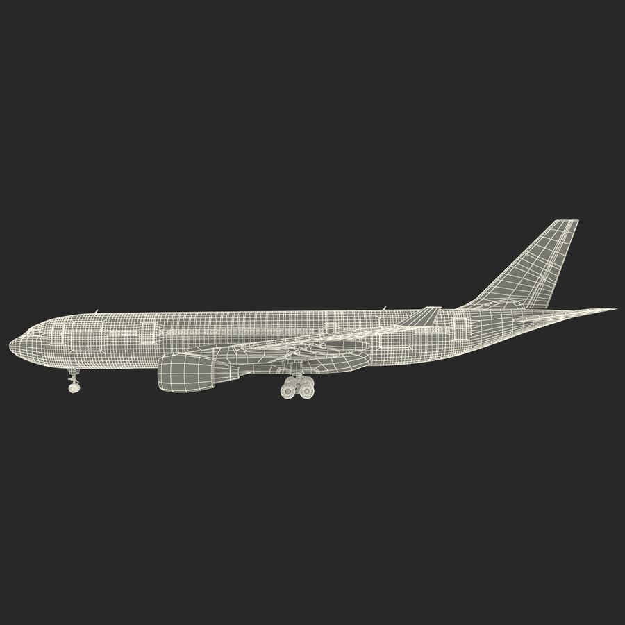 Airbus A330-P2F Cathay Pacific 3D Modeli royalty-free 3d model - Preview no. 32