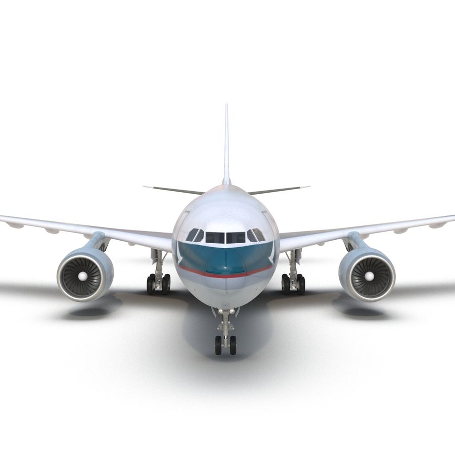 Airbus A330-P2F Cathay Pacific 3D Modeli royalty-free 3d model - Preview no. 16