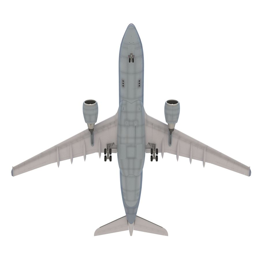 Airbus A330-P2F Cathay Pacific 3D Modeli royalty-free 3d model - Preview no. 17