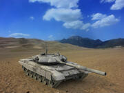 T-90俄罗斯战车 3d model