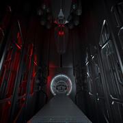 Sci FI 인테리어 3d model