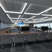 大会议室 3d model