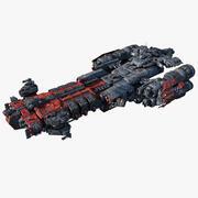 SciFi Heavy_Frigate 3d model