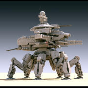 Annihilator MK-V battle mech 3d model
