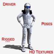 Motorista 3d model
