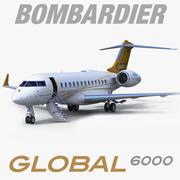 Bombardier Global 6000 modelo 3d