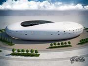 Stadion 05 3d model