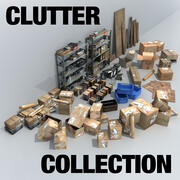Clutter Collection 1 3d model