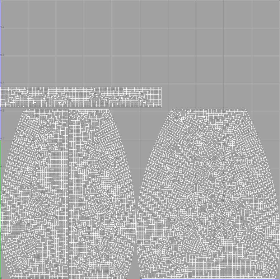 天使卡通女人女孩女企业家 royalty-free 3d model - Preview no. 53