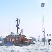 Station météorologique arctique 3d model