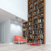 Interior de loft modelo 3d