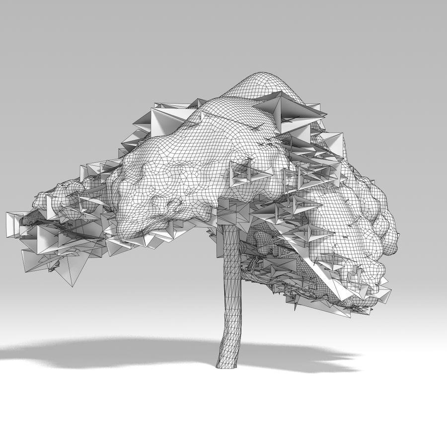 スノーツリーV5 royalty-free 3d model - Preview no. 10