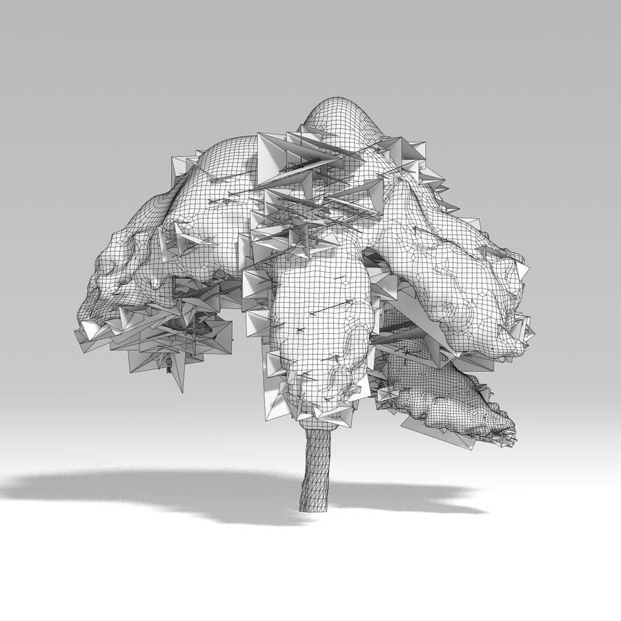 スノーツリーV5 royalty-free 3d model - Preview no. 11