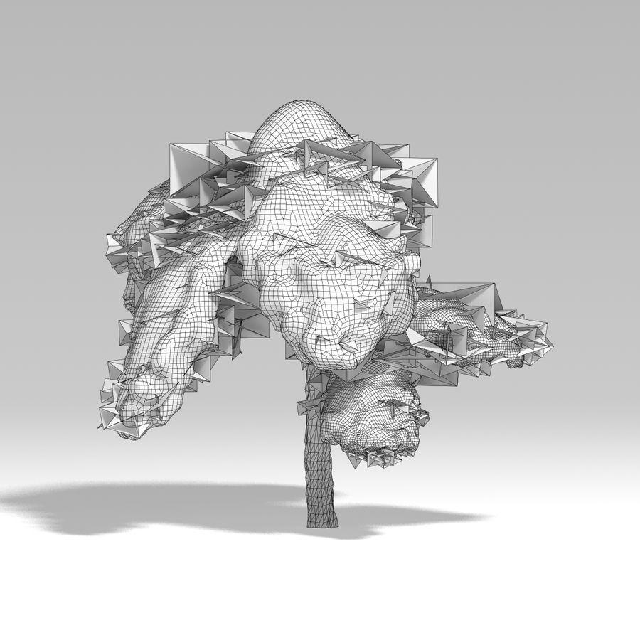 スノーツリーV5 royalty-free 3d model - Preview no. 12