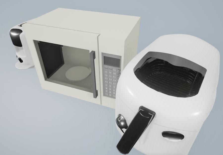 調理器具 royalty-free 3d model - Preview no. 3