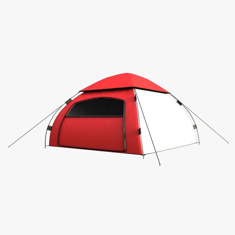 camping tent 5 royalty-free 3d model - Preview no. 6