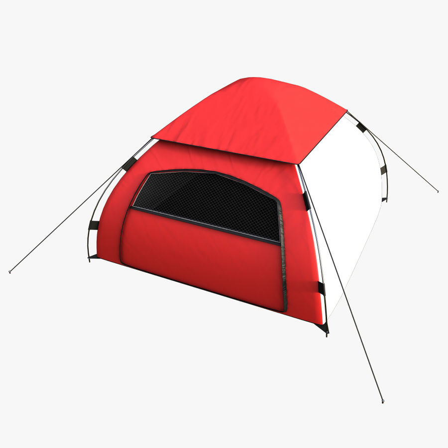 camping tent 5 royalty-free 3d model - Preview no. 5