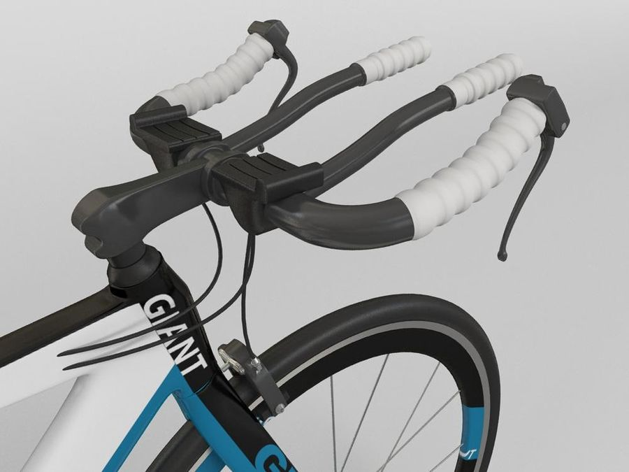 RACING BIKE royalty-free 3d model - Preview no. 5