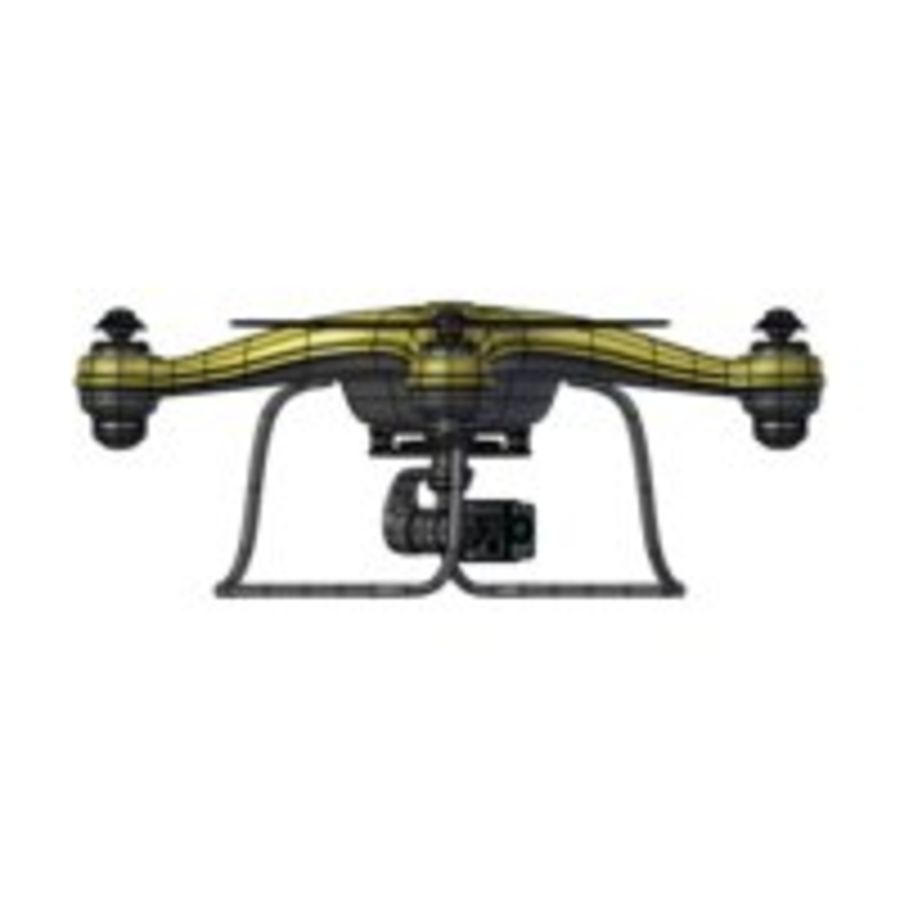 Gneneric Quadcopter Drone V1 royalty-free 3d model - Preview no. 16