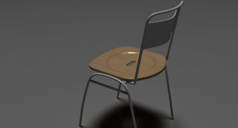 Restaurangbord (4) royalty-free 3d model - Preview no. 23
